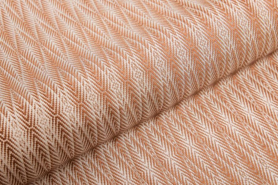 Heritage Silk - Palm 1 - Nugget on Ivory