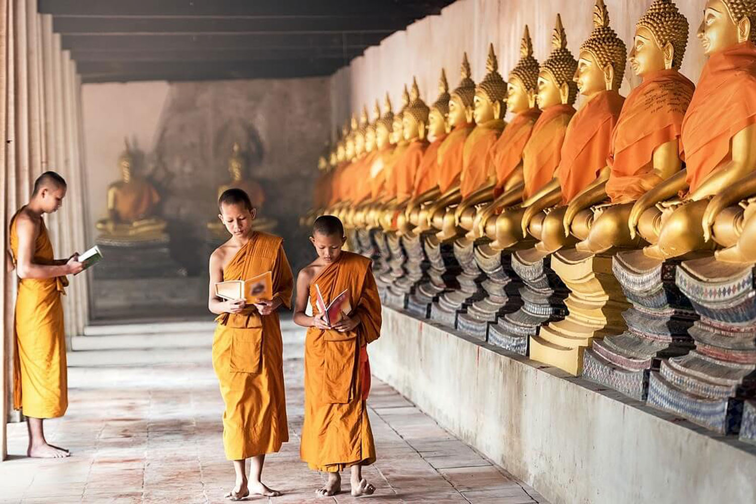Buddhism - central to Lao people's lives